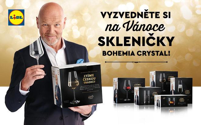 6b801f1730 Vyhraj s prodejnami LIDL skleničky BOHEMIA CRYSTAL a dárkové karty na nákup!