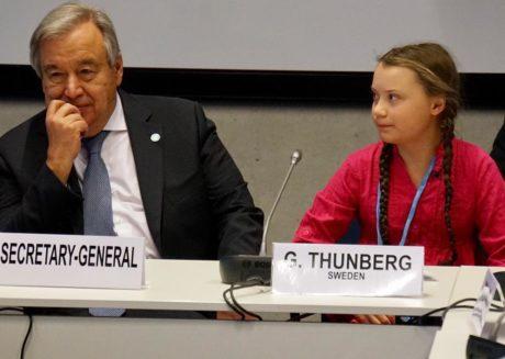 Thunberg Guterres