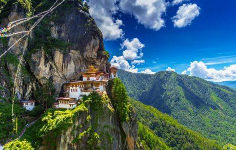 Tigří klášter v Bhútánu