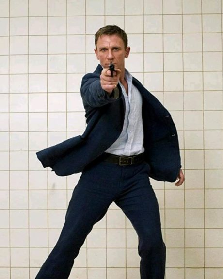 Daniel Craig jako James Bond ve filmu Casino Royale