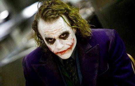 Heath Ledger jako Joker ve filmu Temný rytíř