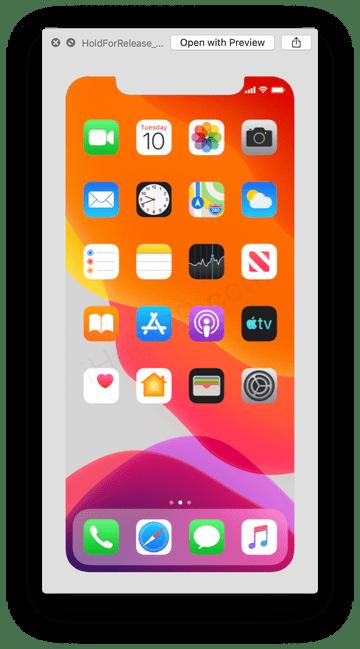 Serveru iHelp BR se podařilo obrdžet screenshot obrazovky nového iPhonu s datumem 10. září