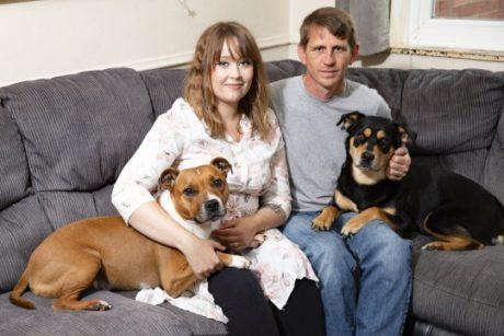 Alannah a Lee se svými psy