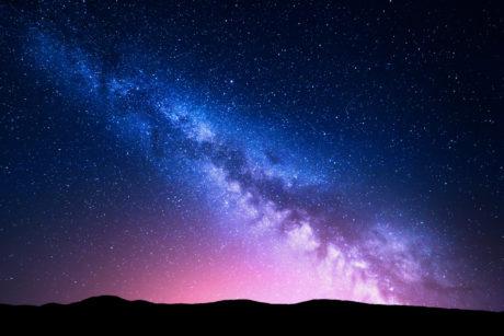 Pohled na Mléčnou dráhu