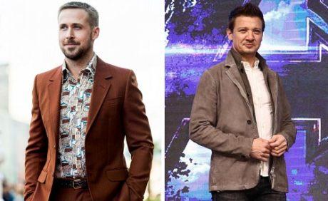 Ryan Gosling a Jeremy Renner