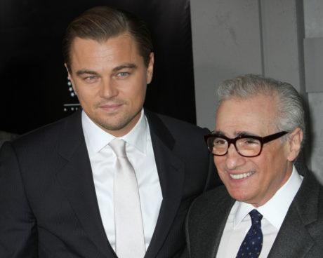 Režisér Martin Scorsese (vpravo) s hercem Leonardem DiCapriem