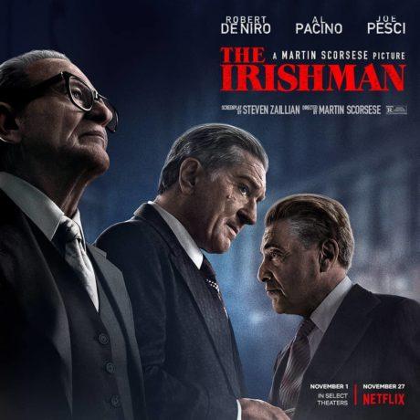 Plakát k novému filmu The Irishman