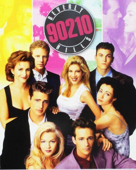 Původní plakát k seriálu Beverly Hills 90210
