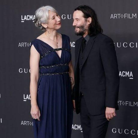 Herec Keanu Reeves se svojí přítelkyní Alexandrou Grant