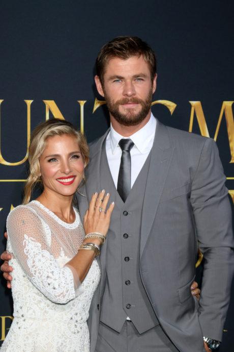 Elsa Pataky se svým manželem, Chrisem Hemsworthem