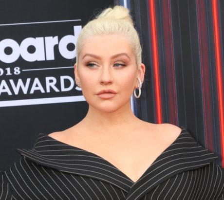 Christina Aguilera pózuje