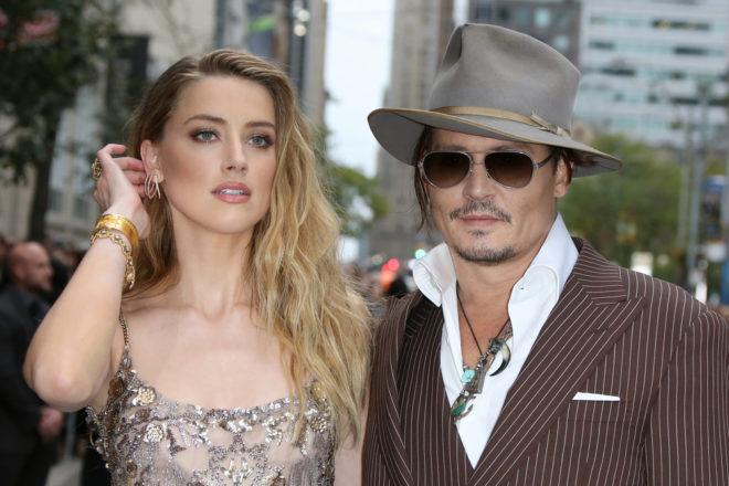 Johnny Depp a Amber Heard v roce 2016