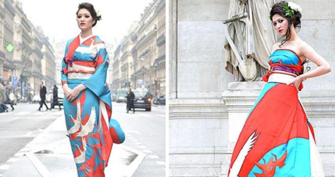 96088ea2d4a5 Japonské nevěsty vyměnily kimona za originální svatební šaty