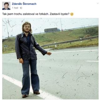 Retro fotka Zdeňka Skromacha