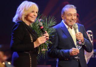 Hana Zagorová a Karel Gott během záříjového vystoupení v pražské Lucerně.