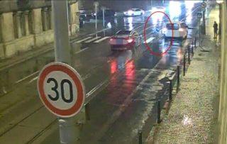 Nehoda v Praze, zdroj: Policie ČR