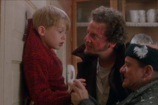 Slavná scéna z filmu Sám doma.