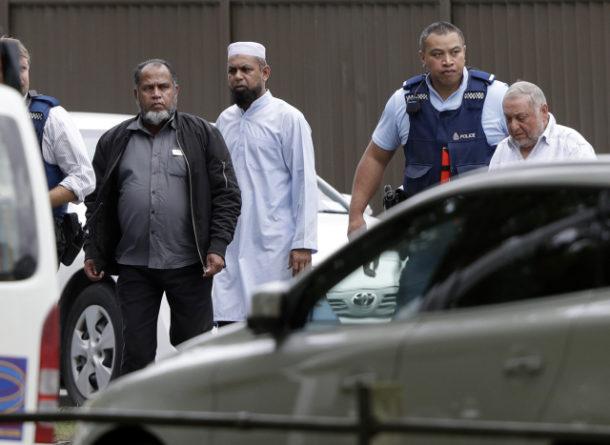 střelba v mešitě