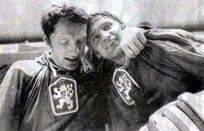 Bratři Holíkové v roce slavného vítězství. Rok 1972.