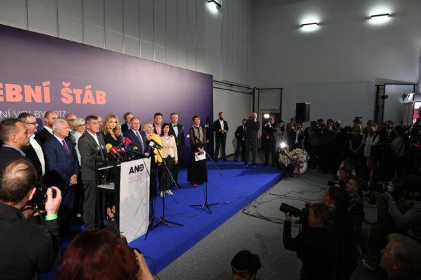 Tisková konference hnutí ANO, FOTO: Michal Souček