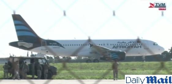 Unesené letadlo na Maltě