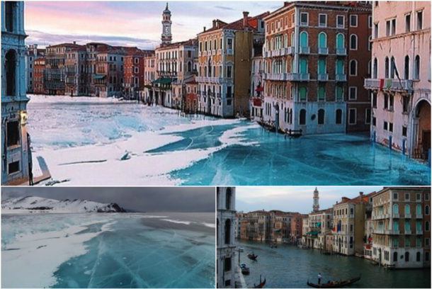 Zamrzlé Benátky?