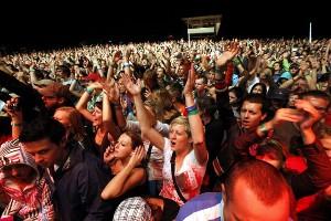 Publikum na Open Air Festivalu