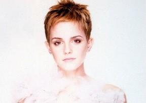 Emma Watson v novém účesu
