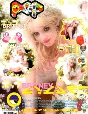 Brintey v japonském magazínu