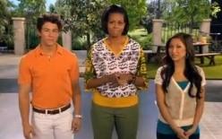 Michelle Obama ve spotu přesvědčuje mladé Američany, jak je dobré více cvičit