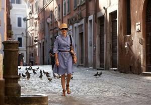 Julia Roberts v Itálii