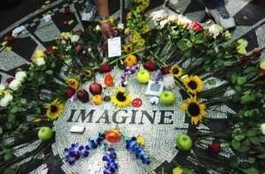 Mozaika Imagine v Central parku v New Yorku