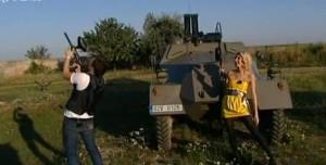 Leoš a Adela v army stylu