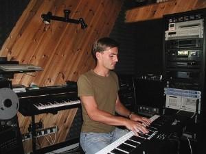 Petr Vondráček ve studiu