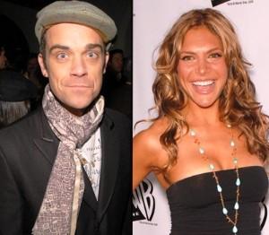 Robbie Williams a Ayda Field