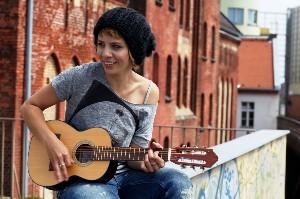 Aneta se fotila v Berlíně