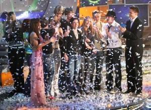 Aneta jako vítězka prvního ročníku SuperStar