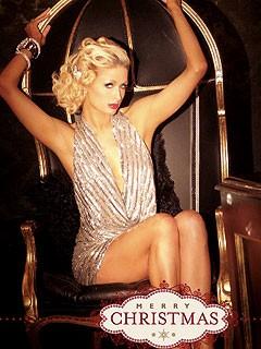 Paris Hilton a její vánoční přání