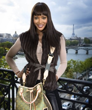 Naomi Campbell pro Louis Vuitton