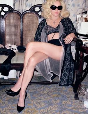Myslí pořád na Madonnu...