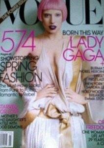 Lady Gaga na americké Vogue