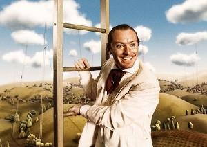 Jude Law ve filmu Imaginarium dr. Parnasse