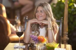 Jennifer Aniston: úsměv, víno, to nám jde