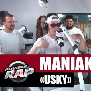"""Maniak """"Usky"""" #PlanèteRap"""