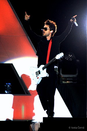 Jared Leto ze 30 Seconds To Mars