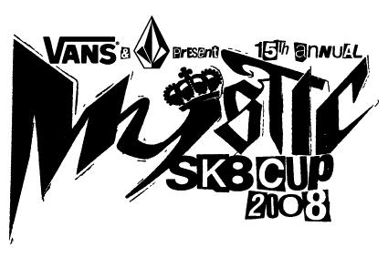 Mystic Sk8 Cup logo