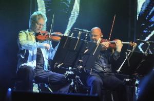 David Harrington a John Sherba z Kronos Quartet