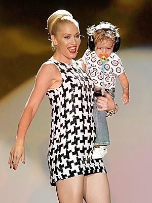 Gwen Stefani ve svém modelu
