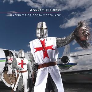 Originální přebal nové desky Monkey Business