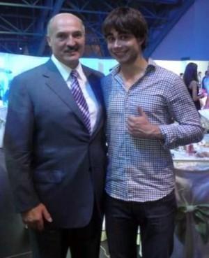 Rybak s Lukašenkem